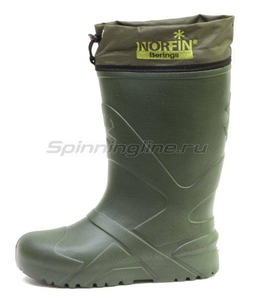 Сапоги Norfin Berings с манжетом олива -45 Eva 42-43 -  2