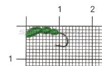 Мормышка Левша НН Лесной Муравей №1 d2.5мм зеленый fluo