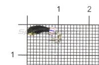 Мормышка Wormix Коза Уралка d2 с коронкой золото