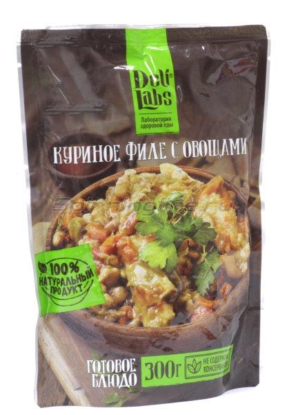 Готовое блюдо DeliLabs Куриное филе с овощами 300гр -  1