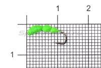 Мормышка Левша НН Лесной Муравей d2,5 0,35гр зеленый fluo +