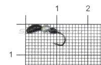 Мормышка Левша НН Лесной Муравей d2,5 0,35гр черно-серебристый