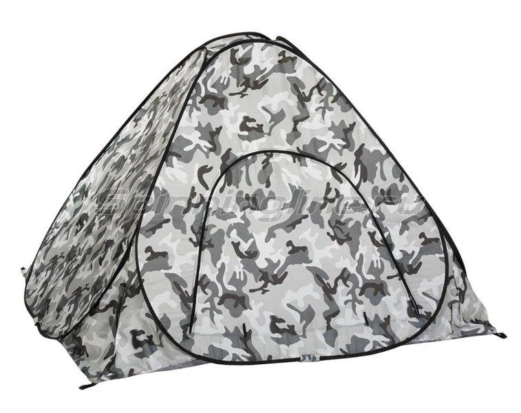 Палатка зимняя Premier автомат 1,8*1,8 КМФ дно на молнии -  1