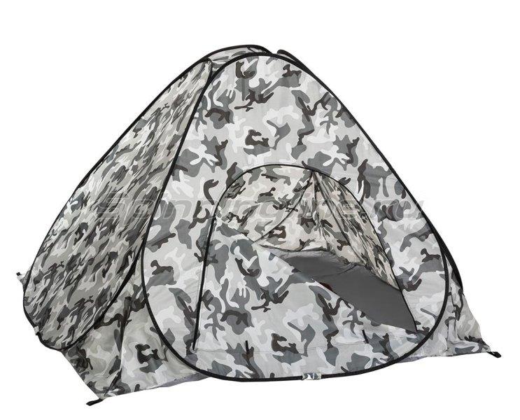 Палатка зимняя Premier автомат 1,8*1,8 КМФ дно на молнии -  2
