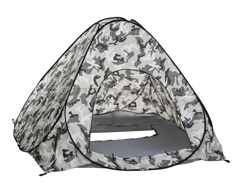 Палатка зимняя Premier автомат 1,8*1,8 КМФ дно на молнии -  3