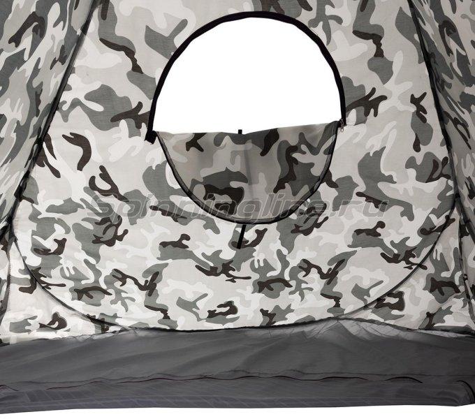 Палатка зимняя Premier автомат 1,8*1,8 КМФ дно на молнии -  5