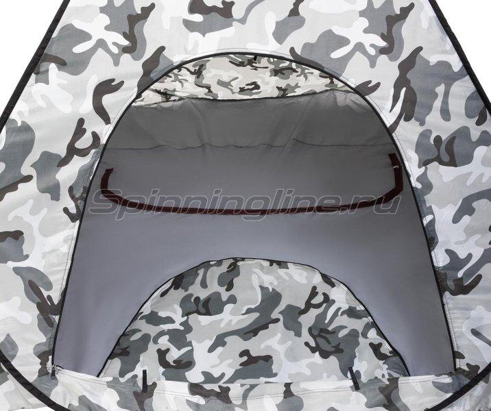 Палатка зимняя Premier автомат 1,8*1,8 КМФ дно на молнии -  8