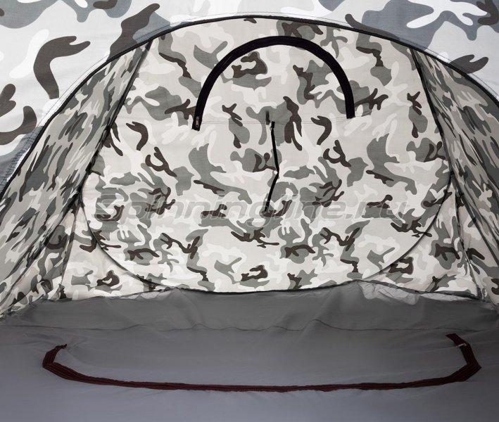 Палатка зимняя Premier автомат 1,8*1,8 КМФ дно на молнии -  9