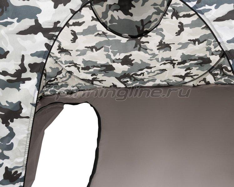 Палатка зимняя Premier автомат 1,8*1,8 КМФ дно на молнии -  14
