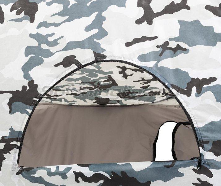 Палатка зимняя Premier автомат 1,8*1,8 КМФ дно на молнии -  17
