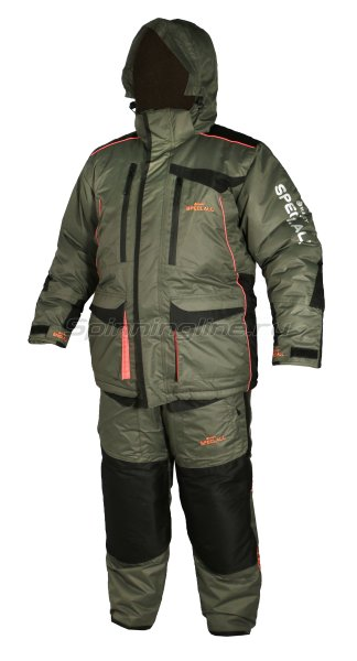 Костюм Woodline Everest Lokker Point 60-62/188 хаки/черный -  1