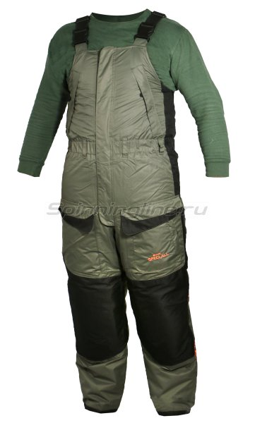 Костюм Woodline Everest Lokker Point 60-62/188 хаки/черный -  11