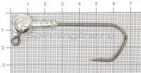 Джиг-головка Narval ZG 120 6/0 14гр упаковка 25 штук