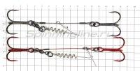 Оснастка Savage Gear Carbon49 Corkscrew Stinger 2x3/0