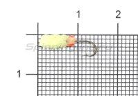 Мормышка светящаяся Shape Личинка SL14