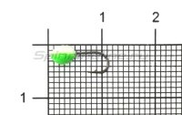 Мормышка светящаяся Shape Чечевичка SC14 зеленый
