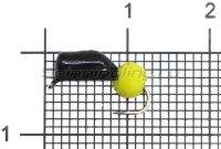 Мормышка Premier Гвоздешарик d3 1,2гр многогранный желтый