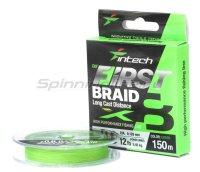 Шнур Intech First Braid X8 150м 0,205мм green