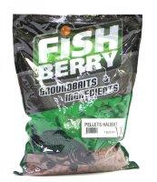 Пеллетс гранулированный Fishberry 8мм 1кг Палтус