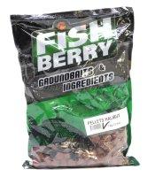 Пеллетс гранулированный Fishberry 12мм 1кг Палтус