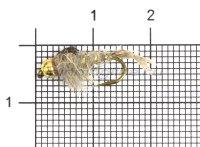Мушка PFG Bead Hares Ear-Natural №12 B101