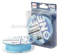 """Шнур """"№ONE"""" Contact X4 150м 0.5 Blue"""