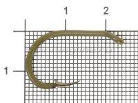 Крючок Saikyo Clever Carp KH-10098 №1 OL