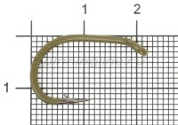 Крючок Saikyo Clever Carp KH-10098 №2 OL