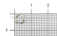 Заводное кольцо Nautilus Split Ring 6мм 12кг