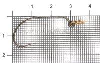 Крючок Decoy  Worm 30 №2