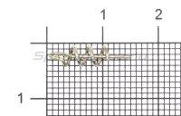 Крепление для силиконовых приманок Owner Centering Pin Spring nickel №M