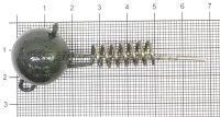 Штопор огруженый для силикона BFT Flexhead Pike Medium 50гр
