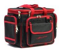 Сумка Markfish Minibag Iс коробками Fisherbox 310 черно-красный