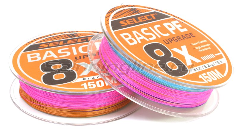 Шнур Select Basic PE 8x 150м 1 multicolor -  2
