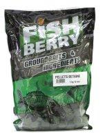 Пеллетс гранулированный Fishberry зеленый 12мм 1кг Бетаин