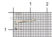 Тройник Daiwa SC TH-Semi Barbless №12
