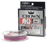 Плетеный шнур Varivas Crown Fune PE x8