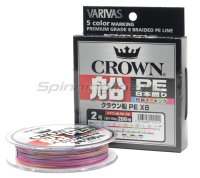 Шнур Varivas Crown Fune PE x8 200м 0.8