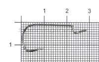 Крючок Saikyo BS-3324 BN №6