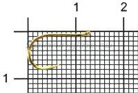 Крючок Mottomo Chinu W/Ring 064 №10 Golden