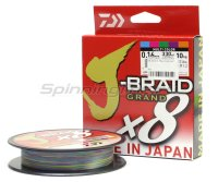 Шнур Daiwa J-Braid Grand X8 300м 0,13мм multicolor