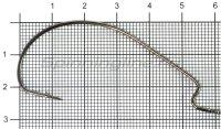 Крючок Nautilus Offset Big Eye Series Worm 1006 №5/0