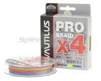 Шнур Nautilus Pro Braid X4 150м 0,10мм Multicolor