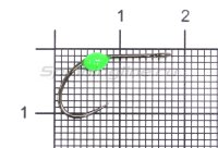 Крючок LureMax Trout LT37B №5 Green