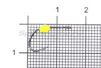Крючок LureMax Trout LT37B №4 Lemon