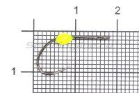Крючок LureMax Trout LT37B №5 Lemon