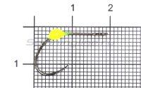 Крючок LureMax Trout LT37B №6 Lemon