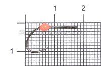 Крючок LureMax Trout LT37B №5 Orange