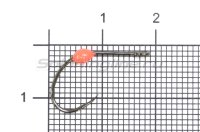 Крючок LureMax Trout LT37B №6 Orange