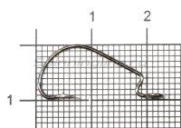 Крючок Fanatik FO-3312 №4 XL